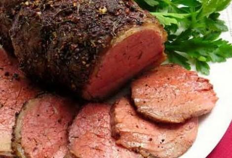 Marinated Mediterranean Beef Roast