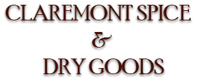 Claremont Spice and Dry Goods