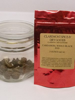 Cardamom, black pod