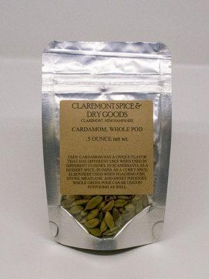 Cardamom pods, green – Organic