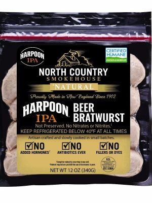 Harpoon IPA bratwurst