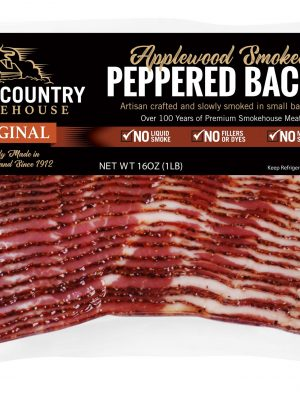 Applewood smoked peppered bacon – 1 lb