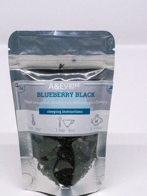 Blueberry Black tea, organic