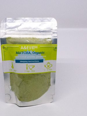 Matcha powder tea, organic