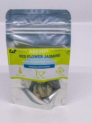 Red jasmine tea, flower