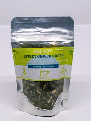 Sweet Ginger Green tea