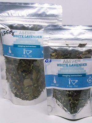 White lavender tea