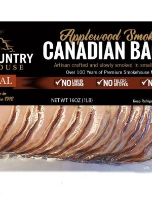 Canadian bacon – 1 lb